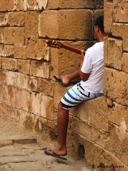 Guitariste d'Essaouira