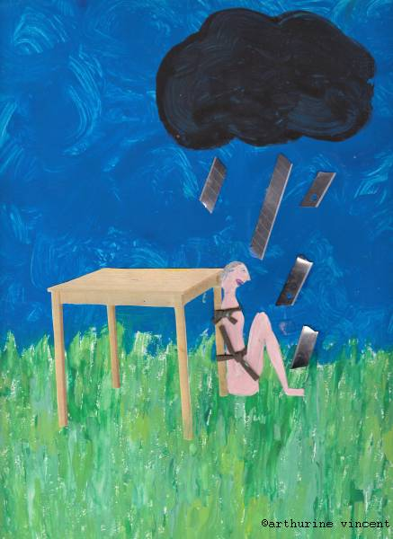 Autoportrait un jour d'orage