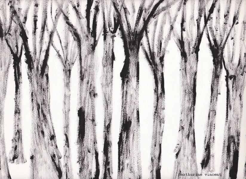 la forêt des morts