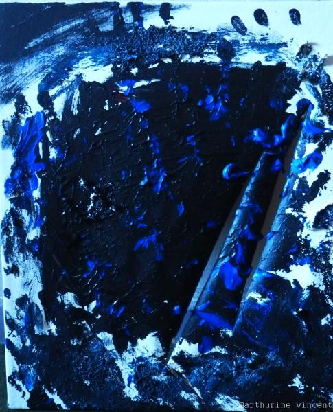 cauchemar en bleu et noir
