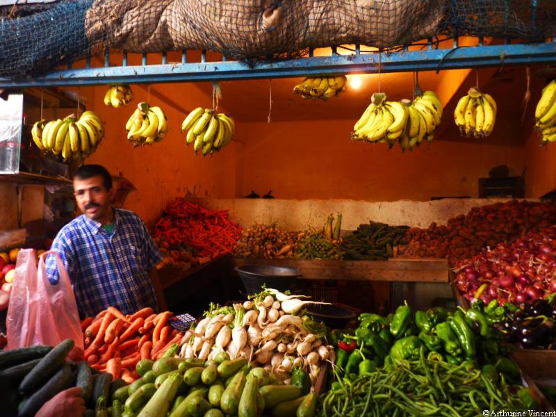 Le marchand de fruits et légumes
