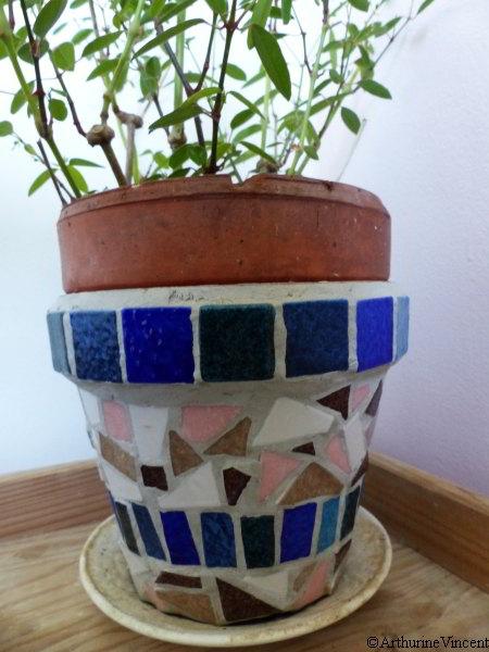 Pot de fleurs (vendu)