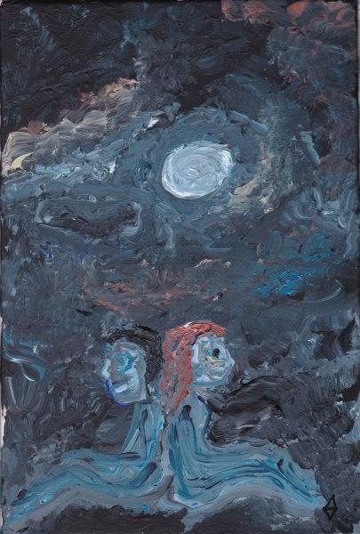 Amis au clair de lune (non disponible)