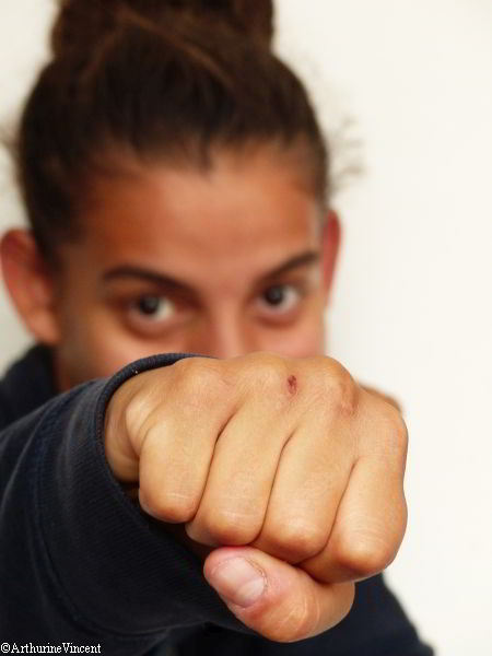 La boxeuse