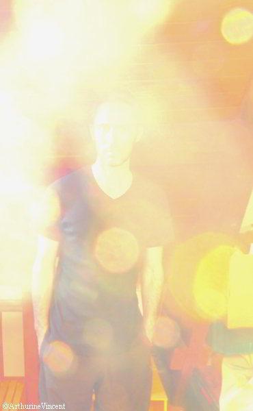 L'homme dans la lumière