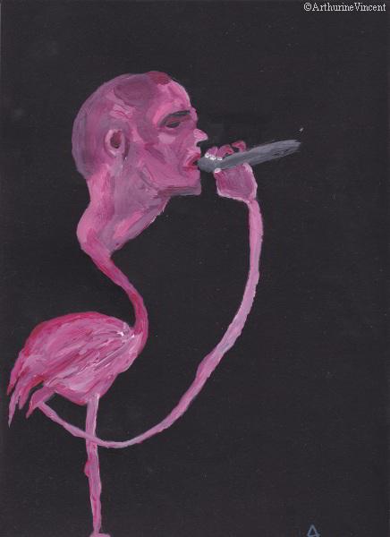 Nosfell le flamant rose (non disponible)