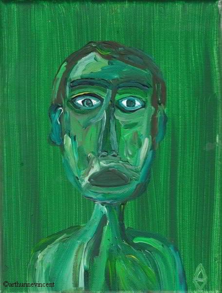 L'impassible vert