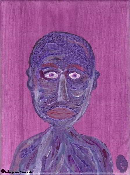 L'impassible violet