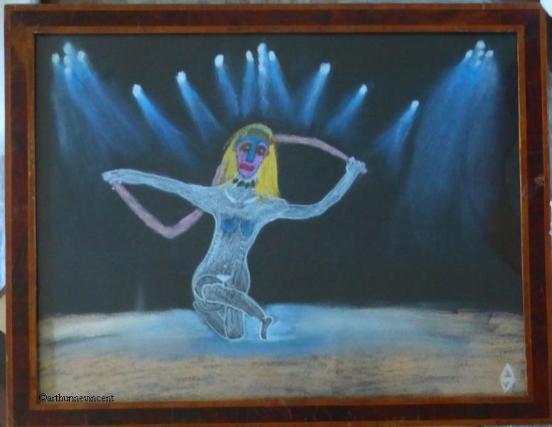 la danseuse au ruban