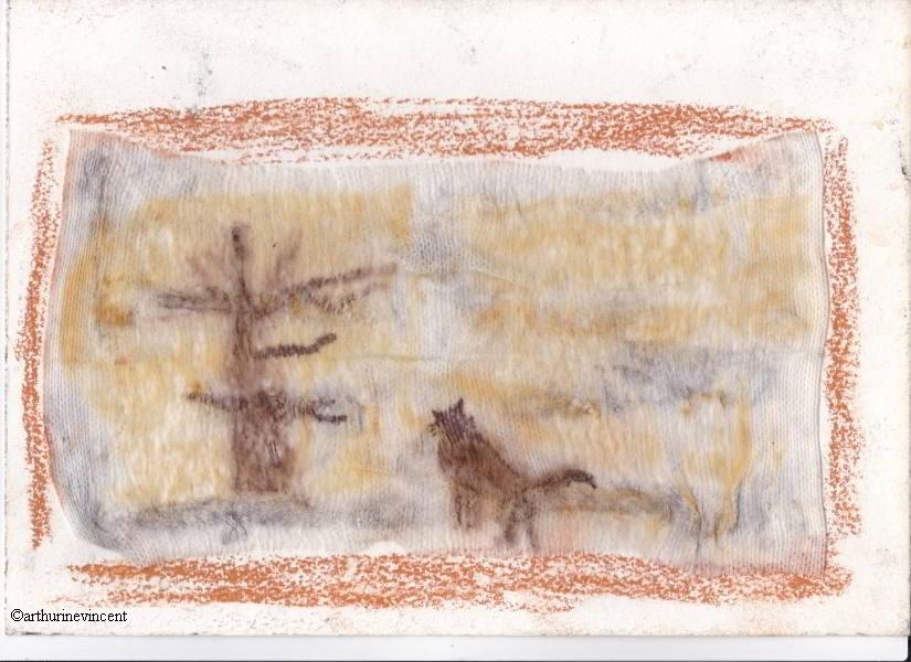l'arbre et le chat