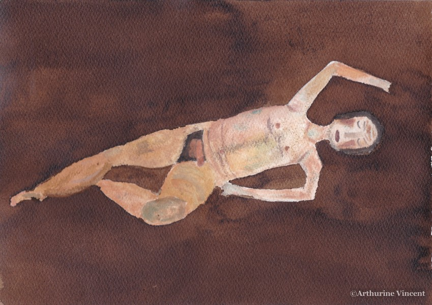 homme aquarelle 2