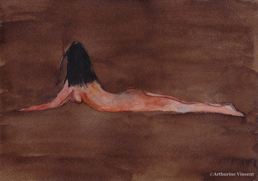 femme aquarelle 10