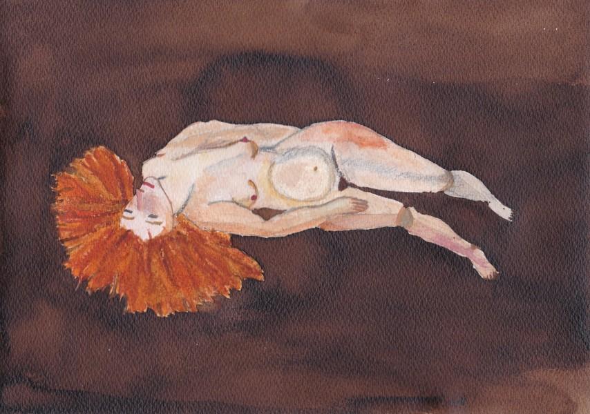 femme aquarelle 11 (non disponible)