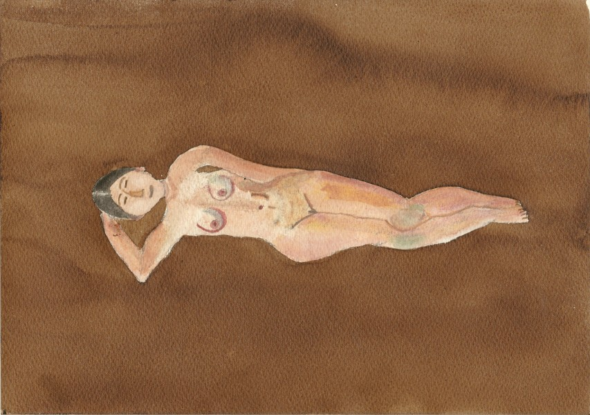 femme aquarelle 12