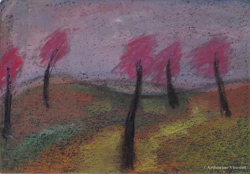 Les arbres roses