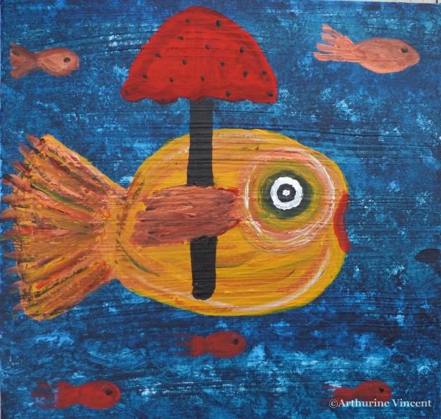 Le poisson qui n aimait pas être mouillé